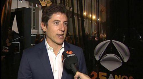 """Manel Fuentes: """"Antena 3 ha dado grandes momentos informativos, como Matías Prats comentando el 11-S"""""""