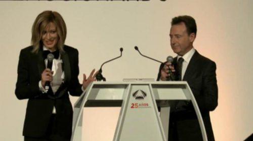 Discurso de Matías Prats y Susanna Griso en la gala del 25 aniversario de Antena 3