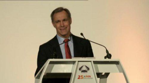 Discurso de Silvio González, Consejero Delegado de Antena 3, en la gala del 25 aniversario