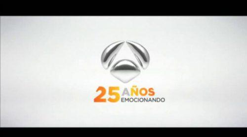 """Antena 3 recuerda sus 25 años de historia en este vídeo: """"25 años emocionando"""""""