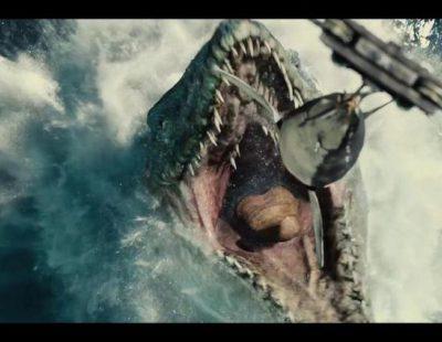 "Tráiler de ""Jurassic World"" de la Super Bowl 2015"
