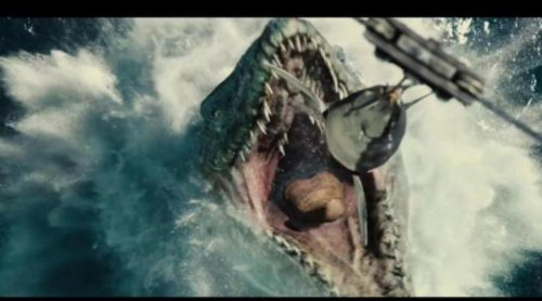 "Tráiler de ""Jurassic World"" de la Super Bowl 2015"