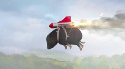 Anuncio cerdo volador de Doritos de la Super Bowl 2015