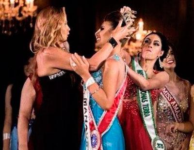 Una finalista cabreada con su derrota arranca y tira la corona de Miss Amazonas 2015