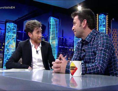 """Pablo Motos: """"El Rey me rascó la barba y me preguntó: ¿Es roja de verdad?"""""""