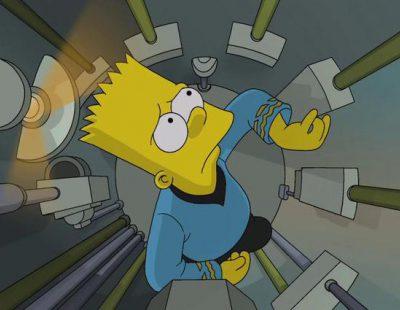 'Los Simpson' rinden homenaje a Star Trek con sus créditos
