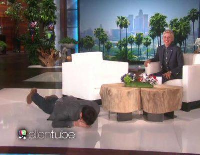 Ellen da un gran susto a Jimmy Fallon y se lanza al público