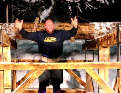 """""""La Montaña"""" de 'Juego de Tronos' gana una competición vikinga y rompe un récord de mil años"""