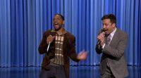 """Will Smith y Jimmy Fallon rapean y hacen beatbox a ritmo de """"It Takes Two"""""""