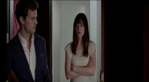 """Trailer oficial en español de """"Cincuenta sombras de Grey"""""""
