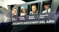 """José Vicente, Frank Cuesta, David Berian y El Mago Pop se disputan el premio """"Born to Be Discovery Awards"""" en la categoría Talento"""
