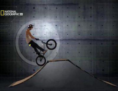 'Ciencia para aficionados' enseña a saltar en bicicleta
