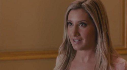 """Ashley Tisdale (""""High School Musical"""") se convirtió en Anastasia (""""Cincuenta sombras de Grey"""") en """"Scary Movie 5"""""""