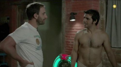 """Dani Rovira """"se declara"""" a Fran Perea en la promo de la nueva temporada de 'B&B'"""