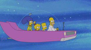 'Los Simpson' rinden homenaje a 'Los Supersónicos' en su último capítulo