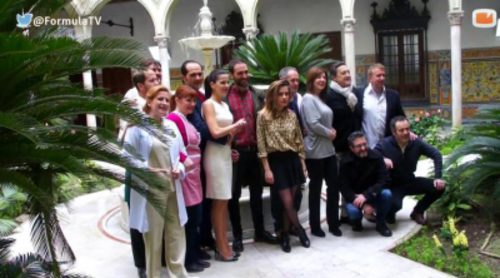 Visitamos el rodaje de 'Allí Abajo' en Sevilla
