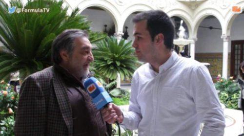 """César Benítez: """"Ha sido muy emotivo recuperar a 'El Comisario' y no ha resultado complicado de integrar en 'El Príncipe'"""""""