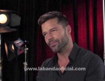 """Ricky Martin sobre 'La Banda': """"Estoy buscando el talento, estoy buscando el carisma, estoy buscando la pasión"""""""