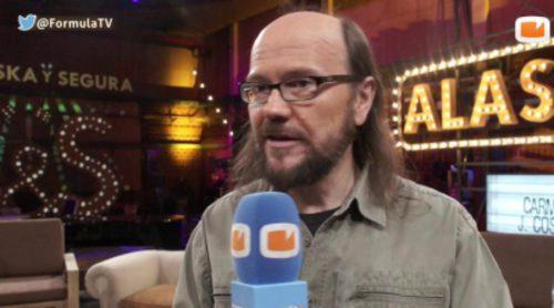 """Santiago Segura: """"Cuando acepté 'Dobles parejas' (Antena 3) lo hice por la pasta, en La 1 no porque es patético"""""""