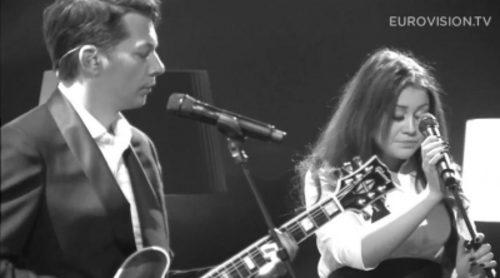 "Elina Born & Stig Rästa interpretan ""Goodbye to Yesterday"", tema con el que representarán a Estonia en Eurovisión 2015"