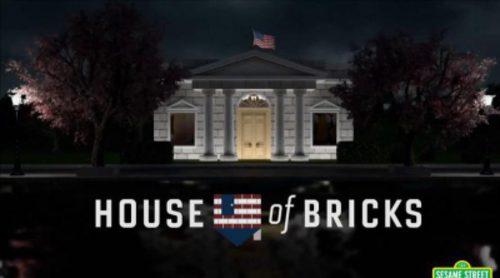 Barrio Sésamo parodia 'House of Cards' con el cuento de los tres cerditos