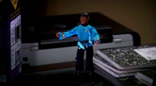 """Así fue el """"cameo"""" de Leonard Nimoy en 'The Big Bang Theory'"""