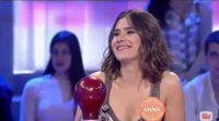 Anna Allen habla en 'Pasapalabra' sobre un premio que ha recibido en Italia