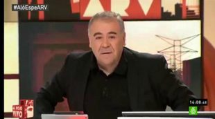 """Ferreras responde al veto de Esperanza Aguirre: """"laSexta no se va a asustar y vamos a hacer periodismo"""""""