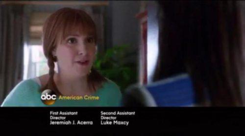 Promo de Lena Dunham en la cuarta temporada de 'Scandal'