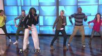 Michelle Obama y Ellen DeGeneres bailan el 'Uptown Funk' de Bruno Mars