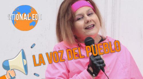 """La Voz del Pueblo Internacional con Amalia Valero: ¿Qué piensan en Bélgica sobre Edurne y su canción """"Amanecer""""?"""