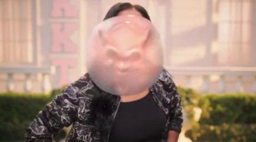 El chicle de Keke Palmer se convierte en demonio en el nuevo teaser de 'Scream Queens'