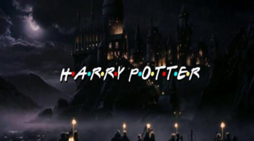 """Este es el resultado de mezclar 'Friends' y """"Harry Potter"""""""