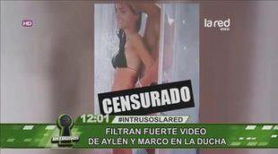 El vídeo íntimo filtrado de Aylén y Marco Ferri en la ducha ('Amor a prueba')
