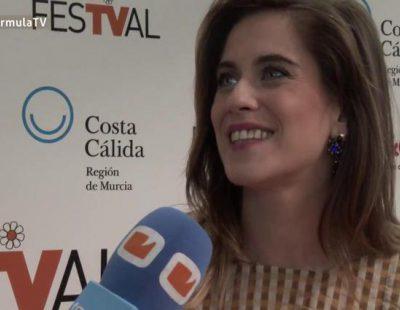 """María León: """"Me gustaría que 'Allí abajo' tuviese las mismas temporadas que las comedias de Telecinco, mínimo 10 años"""""""