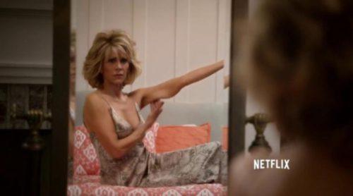 Así promociona Netflix 'Grace and Frankie', la nueva serie de Jane Fonda