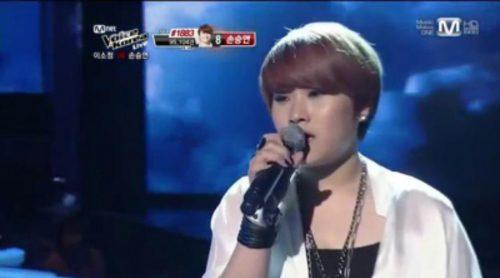 Son Seung Yeon ganó la primera edición de 'The Voice' en Corea del Sur