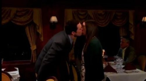 Sheldon y Amy se besan por primera vez 'The Big Bang Theory'