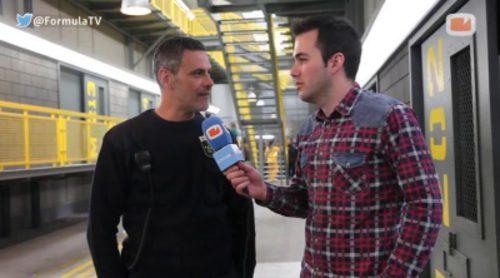 """Roberto Enríquez ('Vis a vis'): """"Entrar en el decorado es como entrar en la cárcel porque parece real"""""""
