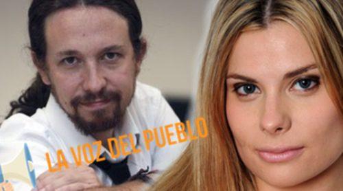 La Voz del Pueblo con María Lapiedra: ¿El éxito de Pablo Iglesias se debe a la televisión? ¿Le dan más presencia que a otros?