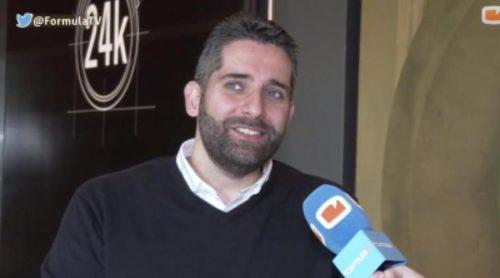"""Pablo Cimadevila: """"No he tenido encargos normales durante la primera temporada de '24 kilates'"""""""