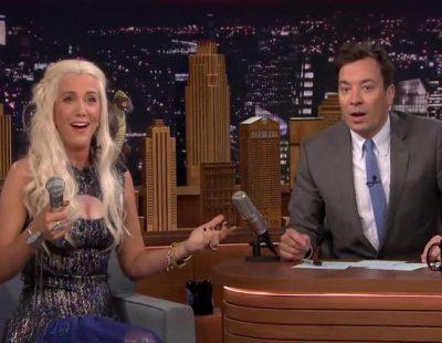 Jimmy Fallon somete a Daenerys Targaryen ('Juego de tronos') a su test más personal: así es la loca vida de Khaleesi