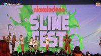 Los Gemeliers se pringan de moco verde y abrazan a sus fans en el Nickelodeon Slime Fest