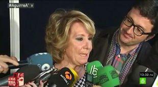 laSexta demuestra que no miente y por tanto no rectificará tras el ataque de Esperanza Aguirre