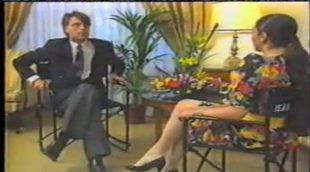 Jesús Hermida entrevistando a Isabel Pantoja en 1988