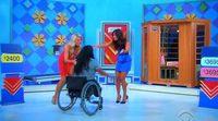 'El precio justo' ofrece a una concursante en silla de ruedas una cinta de correr y una sauna no adaptada para minusválidos