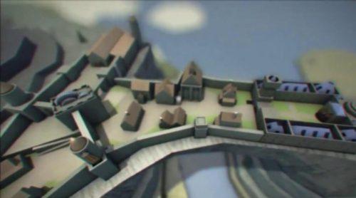 La cabecera de 'Juego de Tronos' versión Skyrim