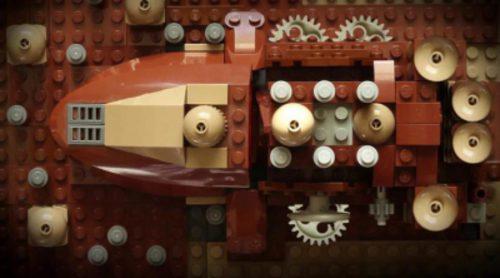 La cabecera de 'Juego de Tronos' versión Lego