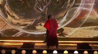 "Primer ensayo de Edurne en el 'Festival de Eurovisión 2015' cantando ""Amanecer"""