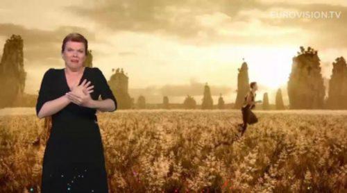 """""""Amanecer"""" y otras canciones de Eurovisión 2015 en lengua de signos"""